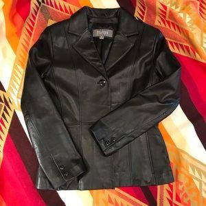 Wilson Leather Blazer Size S